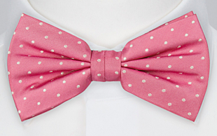 TYCKE PINK pre-tied bow tie