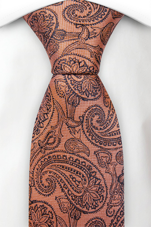 KELA ORANGE classic tie