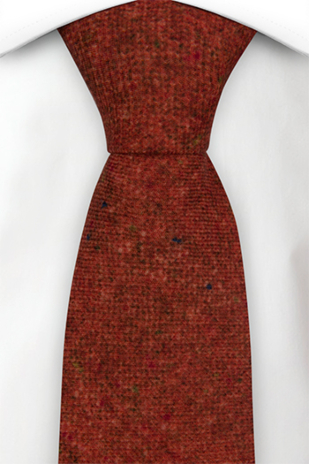 MACULATO Rusty red tie