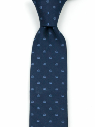 MAGICROWN Blue tie