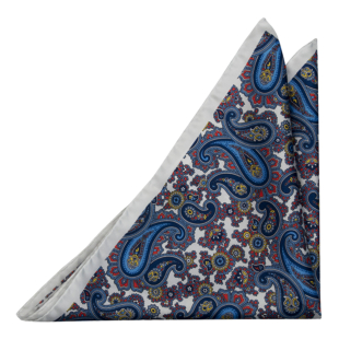 MODELLATO White pocket square