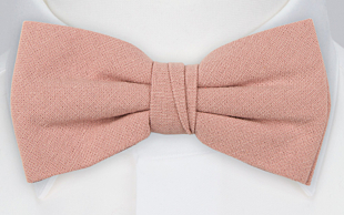 MOREAMORE Vintage pink bow tie