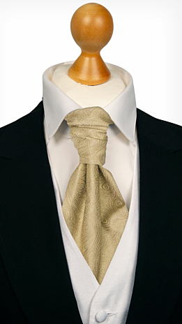 ORNATE Gold cravat