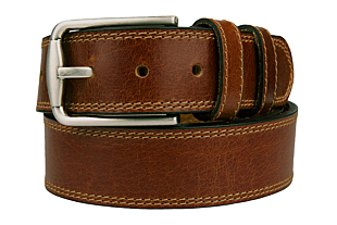 PEPPAD Cognac brown belt
