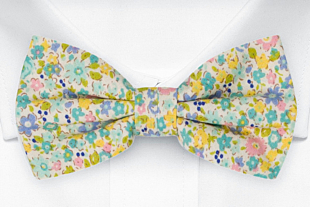 ROSERIDDLER Turquoise bow tie