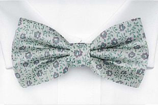 ROSYPOSY Dusty mint bow tie