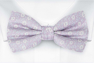 ROSYPOSY Pale purple bow tie