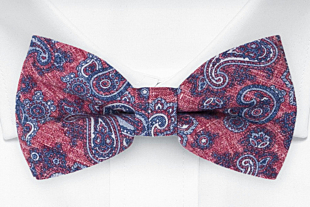 RUVIDO Red bow tie