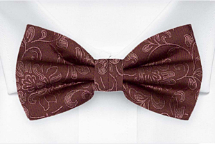 SAVETHEDATE Ash rose bow tie