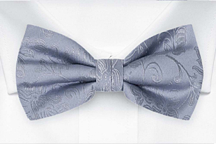 SAVETHEDATE Dusty blue bow tie
