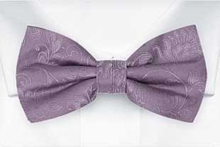 SAVETHEDATE Purple bow tie