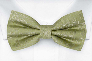 SAVETHEDATE Tea green bow tie