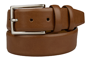 SLIPAD Cognac brown belt