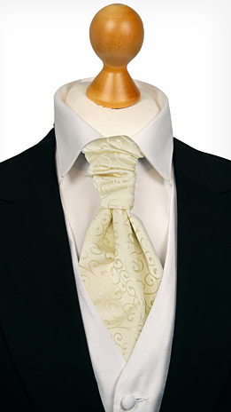 SNAZZY Champagne cravat