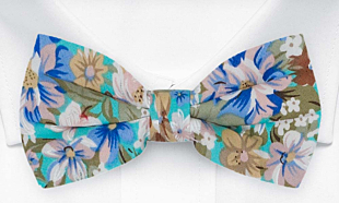 SPIFFYTOP Turquoise bow tie