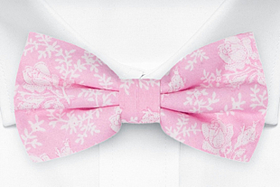 THUMBELINA Pink bow tie