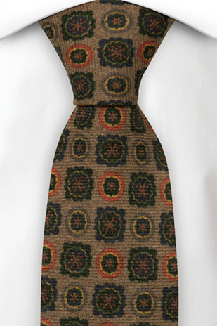 TIMBRATO Brown tie
