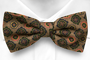 TIMBRATO Brown bow tie