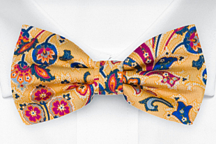 VIVACE Yellow bow tie