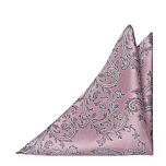 AISLEWALKER Vintage pink pocket square