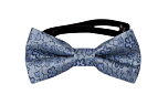 AUGURI Dusty blue baby bow tie