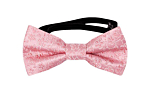 AUGURI Pale pink baby bow tie