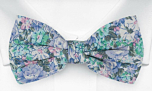 BLOOMBUCKET Light blue pre-tied bow tie
