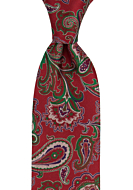 BOFFOLA Red classic tie