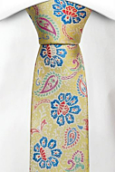 BOTANIFTY Yellow boy's tie medium