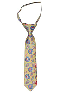 BOTANIFTY Yellow boys tie small pre-tied