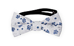 BOUQUET Blue baby bow tie