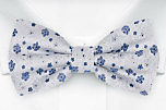 BOUQUET Blue boy's bow tie