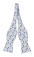 BOUQUET Blue self-tie bow tie