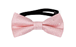 BRUDGUM Pale pink baby bow tie