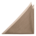 CHILLA Beige pocket square