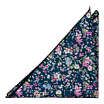 DUSKYBLOOM Blue pocket square