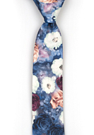 FLORONUBO Blue boy's tie medium