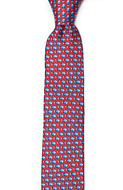 FORZAPESCE Red skinny tie