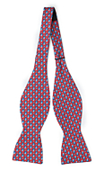 FORZAPESCE Red self-tie bow tie