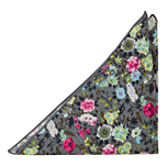 HAPPYSPROUT Grey pocket square