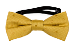 BRUDGUM Gold baby bow tie