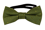 BRUDGUM Olive green baby bow tie