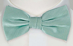 DRUMMEL Turquoise pre-tied bow tie