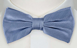 JAGGED Blue pre-tied bow tie