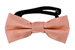 JAGGED Dusty pink baby bow tie
