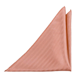 JAGGED Dusty pink pocket square