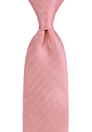 JAGGED Pink classic tie