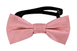 JAGGED Pink baby bow tie