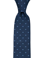 MAGICROWN Blue classic tie