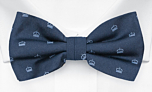MAGICROWN Blue pre-tied bow tie